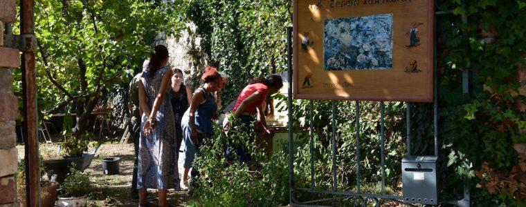 Grüsse vom Jardins participatifs de Baous